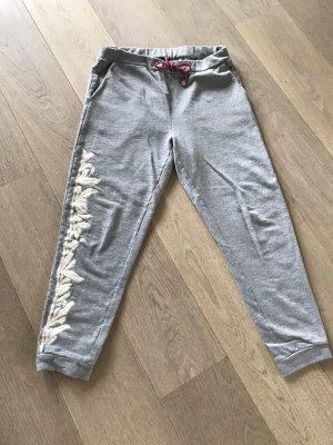 Twin set Pantalone fitness argento-beige chiaro