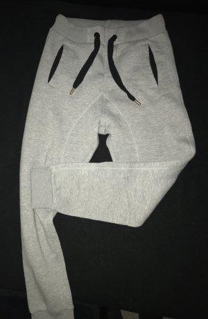 Pantalón abombado negro-gris oscuro