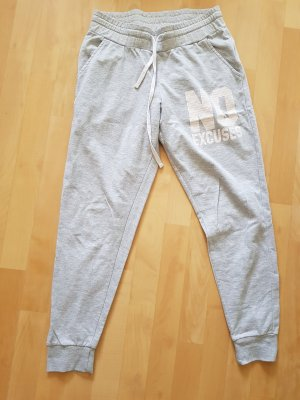 FB Sister Trackies white-light grey cotton