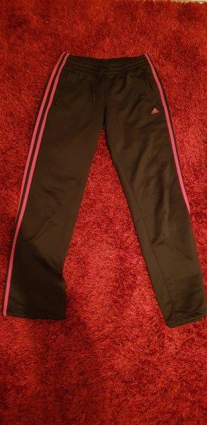 Adidas Pantalon de sport blanc-rose
