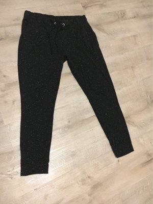 Janina Pantalone fitness nero-bianco