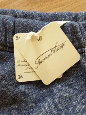 American Vintage Pantalón deportivo azul Algodón