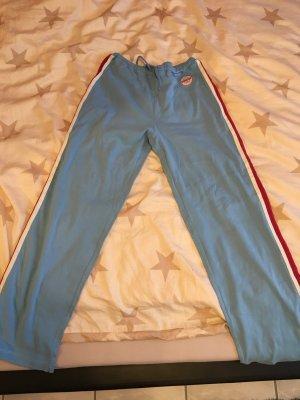 Jogginghose Esprit blau, weiß, rot in Größe 40