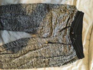 Forever 21 Pantalon de jogging gris-noir
