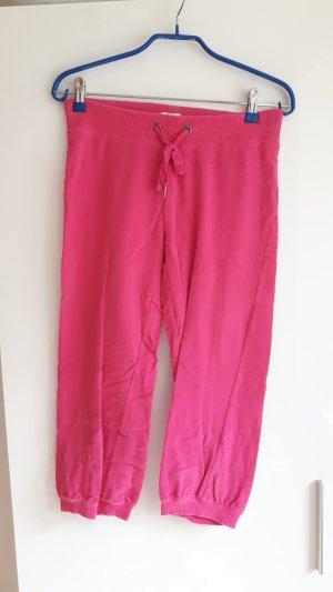 Jogginghose, knielang, pink
