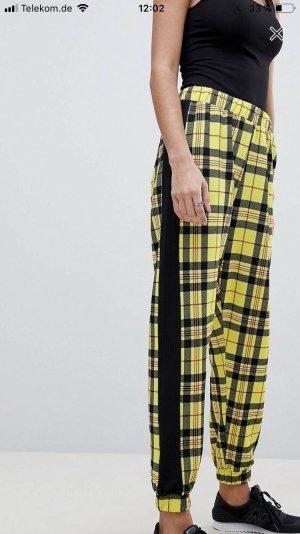 Asos Stoffen broek veelkleurig Polyester