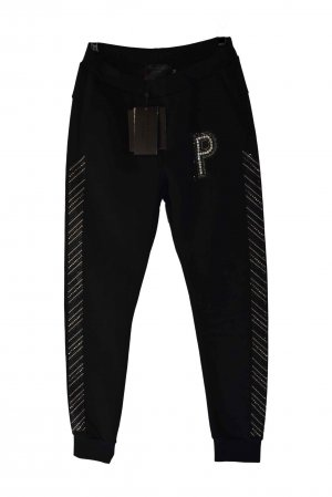 Philipp Plein Sweat Pants black mixture fibre
