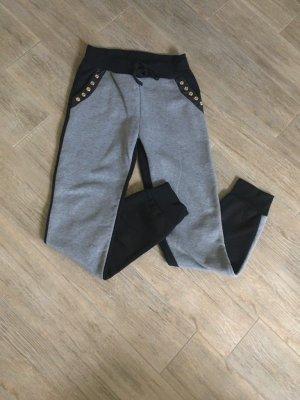 Jogginghose schwarz-grau Gr.36/S