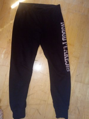Fishbone pantalonera negro tejido mezclado