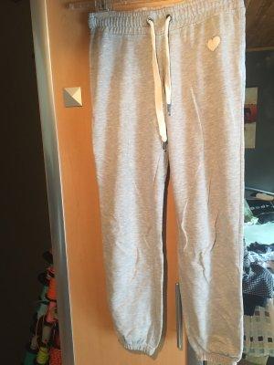 Fishbone Pantalone fitness argento-grigio chiaro