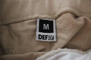 Pantalone fitness beige chiaro Cotone
