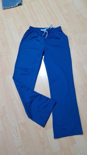 Jogginghose Trainingshose Blau Gr S