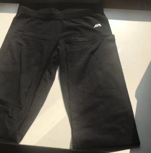 active Pantalone da ginnastica nero