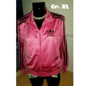 Joggingjacke Pink Adidas Gr. XL