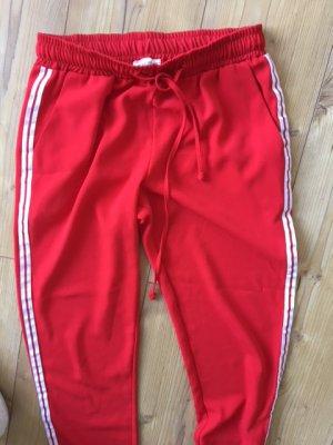 Joggingpants Jogginghose miss miss Gr. XS rot weiß