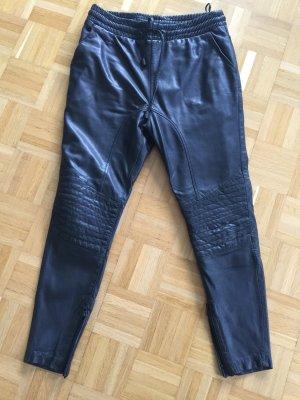Joggpants Bikerstyle Leder Tigha S schwarz neu!!!