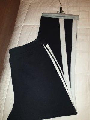 NEO Label Stretch Trousers white-dark blue