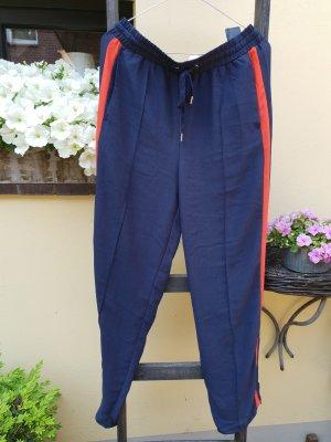 H&M Pantalone Marlene blu scuro