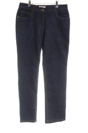 John Baner Jeans a 7/8 blu scuro stile classico