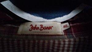 John Baner Blusen in blau und rot  eine kaufen - eine gratis