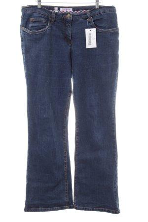 John Baner Boot Cut Jeans blau Casual-Look