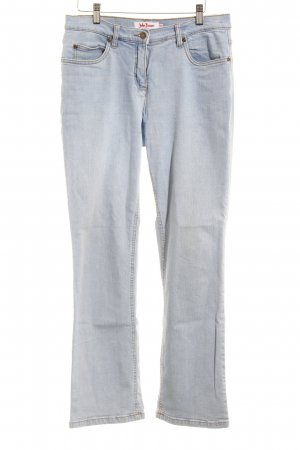 John Baner Jeans taille basse bleu clair style décontracté