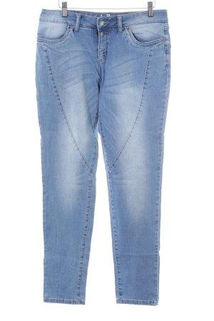 John Baner Jeans cigarette bleu Aspect de jeans