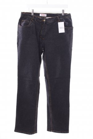 John Baner Straight-Leg Jeans anthrazit Casual-Look