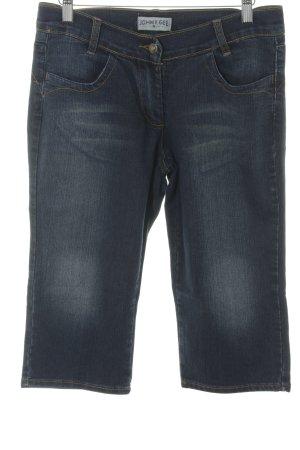 John F. Gee 3/4 Jeans dunkelblau Casual-Look