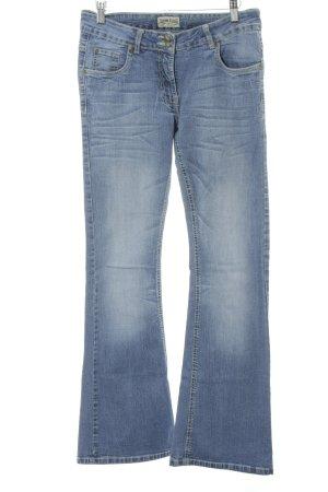 John F. Gee Boot Cut Jeans kornblumenblau Casual-Look