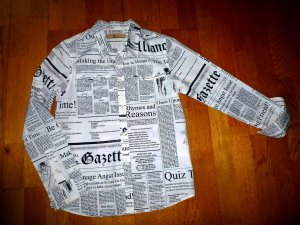 JOHN GALLIANO Gazette im Newspaper Print XS