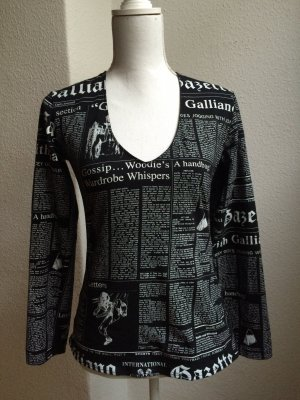 JOHN GALLIANO Gazette Longsleeve