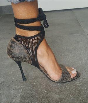 John Galliano High Heel Sandal multicolored