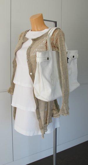 Galliano Carry Bag white-silver-colored