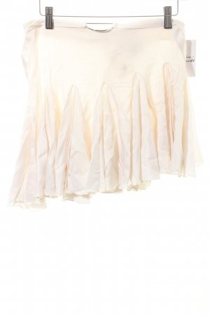 John Richmond Pinafore Overall Skirt natural white wet-look