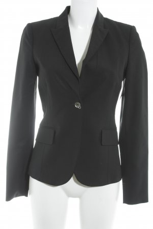 John Richmond Long-Blazer schwarz Business-Look