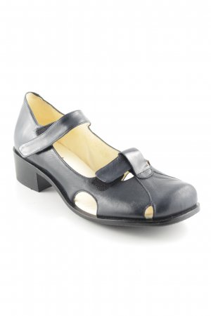 John w. Strapped High-Heeled Sandals dark blue casual look