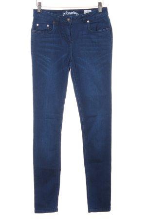 johnnieb Skinny Jeans blau Casual-Look