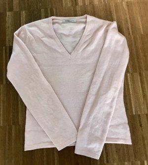 Johnstons cashmere Cashmere Jumper pink cashmere