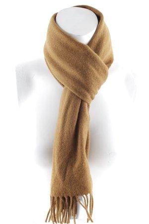 Johnstons of Elgin Sjaal van kasjmier bruin simpele stijl
