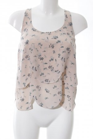 Joie Silk Top allover print casual look