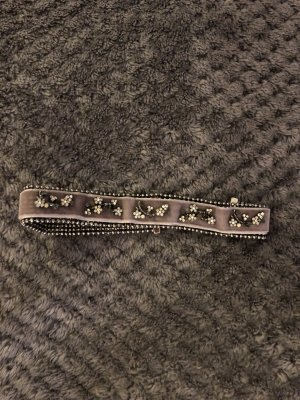 Zara Necklace silver-colored-mauve