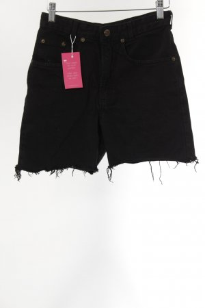 Joker High Waist Jeans schwarz Street-Fashion-Look