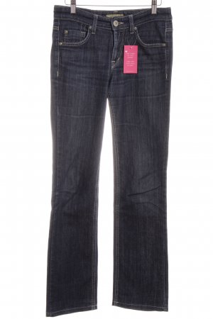 Joker Straight-Leg Jeans blau Washed-Optik
