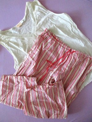JOLINESSE 2er Set Sommer Schlafanzüge Pyjama Shorty XL/48/50