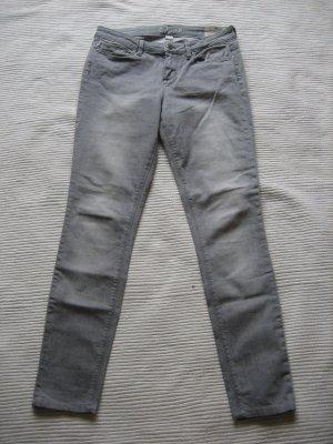 jona graue jeans skinny jeans gr. s 36 strech
