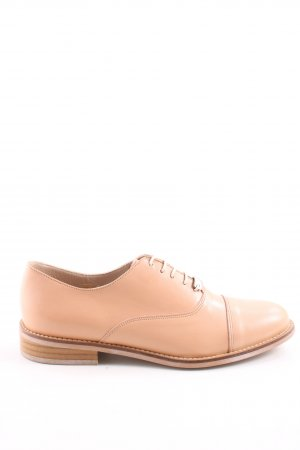 Jonak Lace Shoes nude-light brown business style
