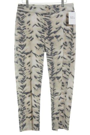 Jones 7/8 Length Trousers spots-of-color pattern casual look