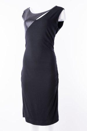 JONES - Ärmelloses Kleid mit Pailetten Schwarz
