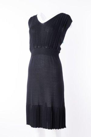 JONES - Ärmelloses Kleid mit Plissierung Schwarz
